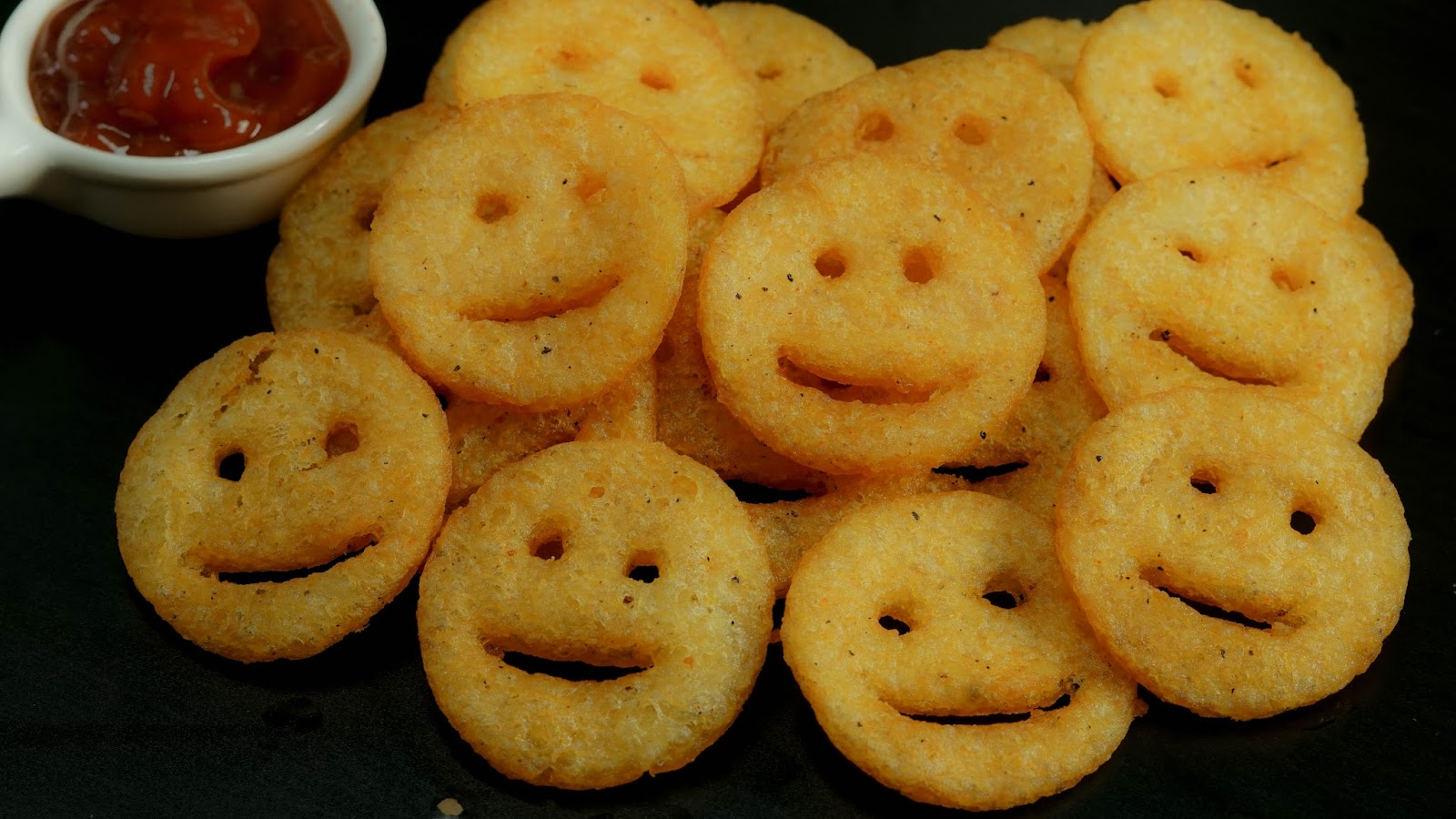Potato Smiles